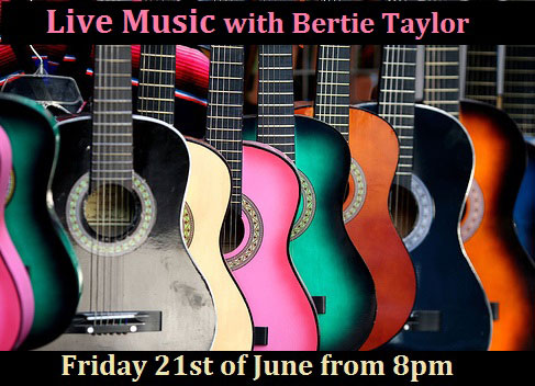 Bertie Taylor Blue Bar 21 June 2013